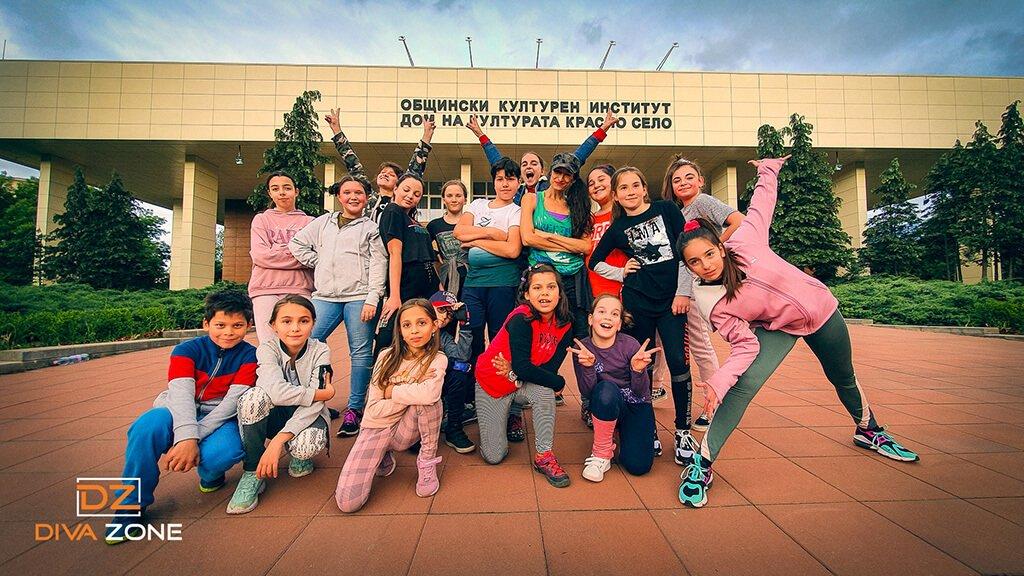 Танци за деца в парк Хиподрума