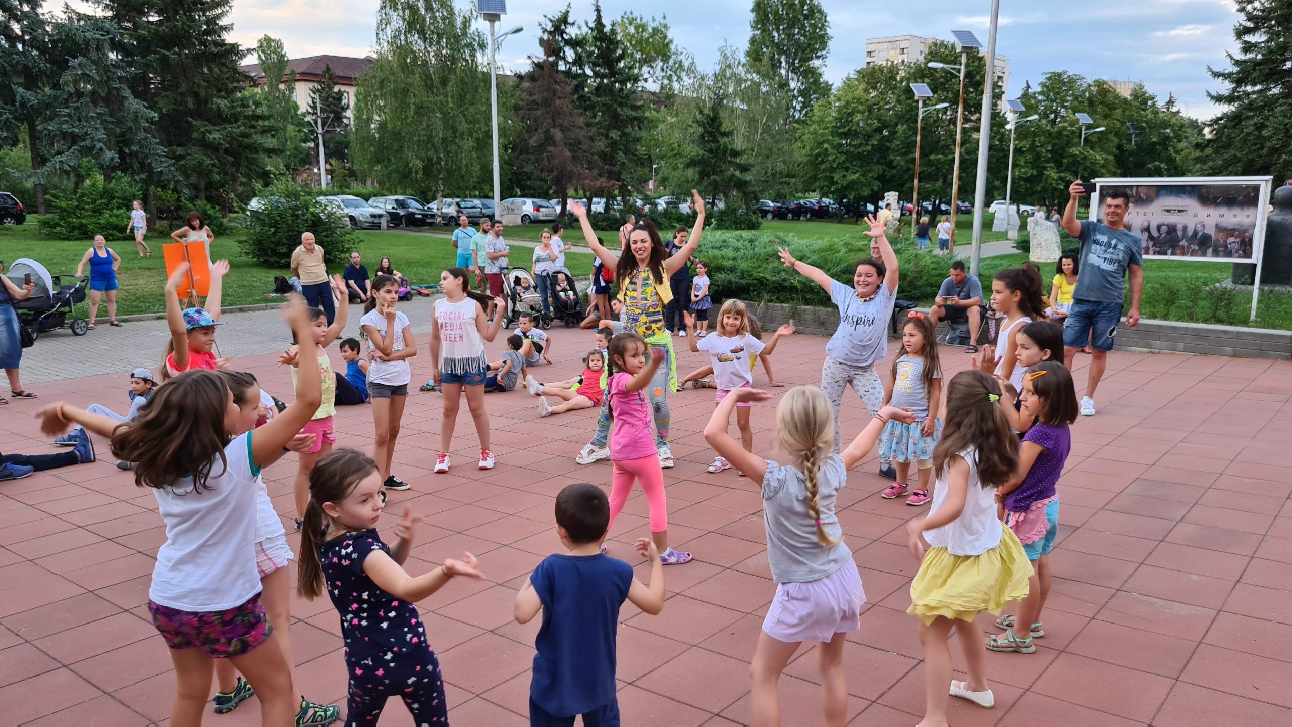 Модерни танци за деца в София