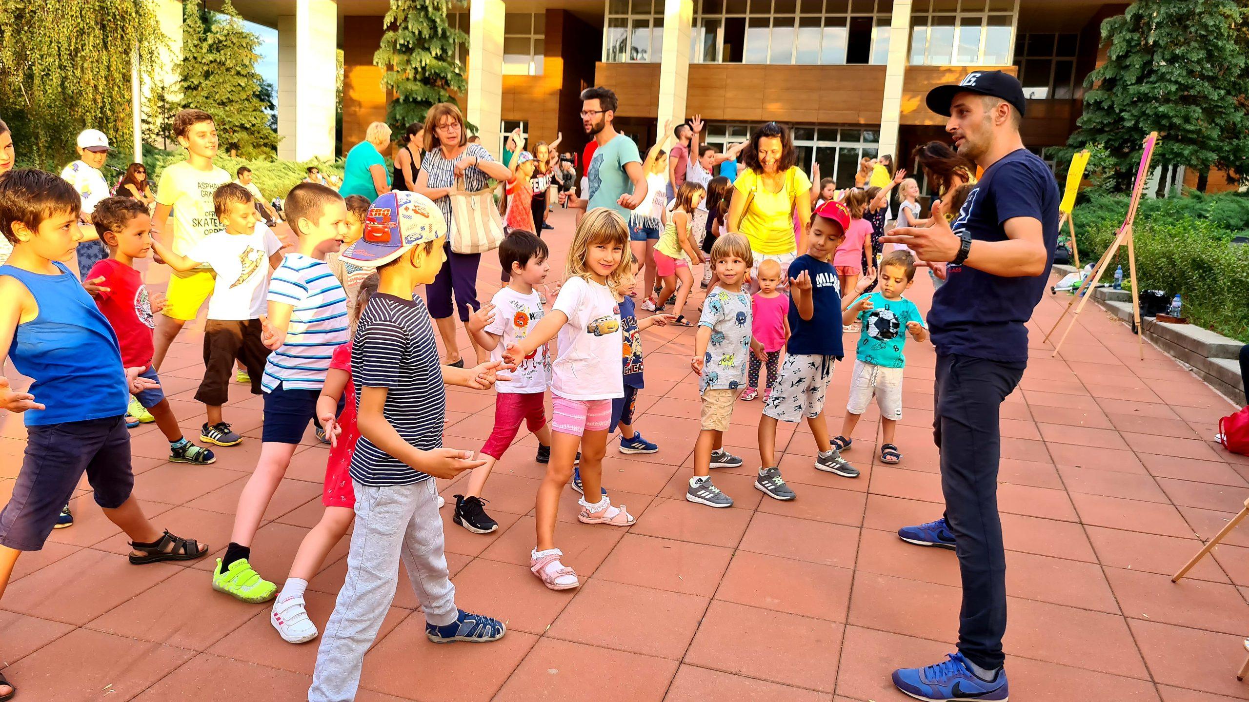 Break Dance за деца в парк Хиподрума