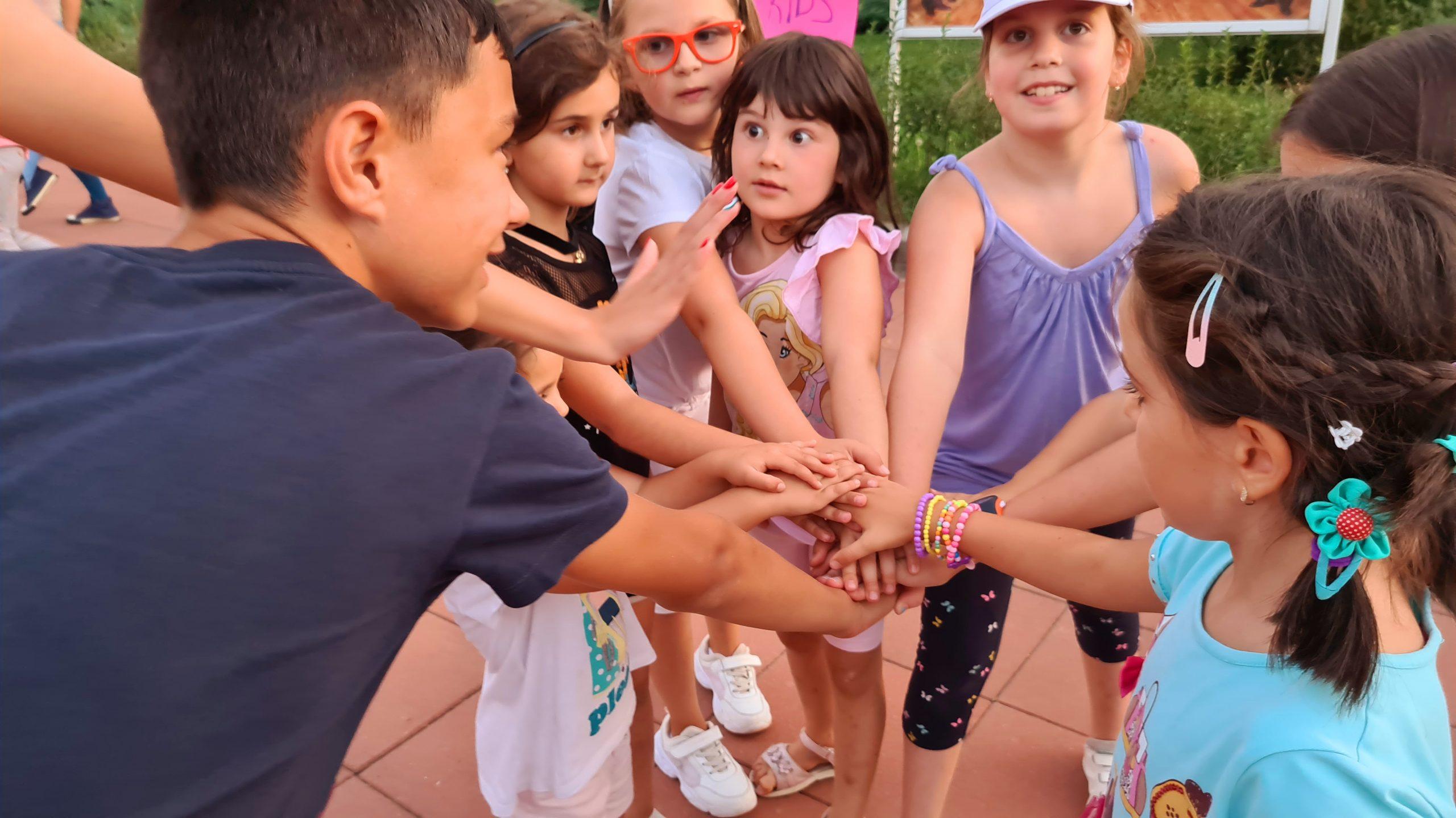 Спорт и танци на открито в парк Хиподрума